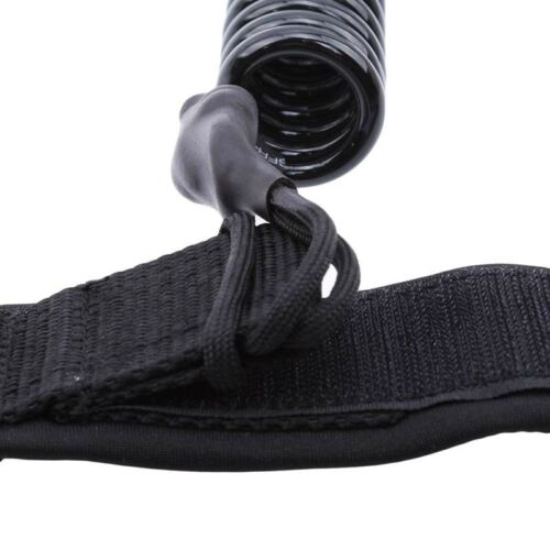 Coiled Surfboard Ankle Leash Surf Board Stand UP Paddle Board String Rope WE