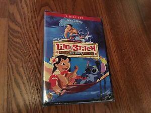 Lilo-amp-Stitch-Big-Wave-Edition-Disney-DVD-2009-2-Disc-Set