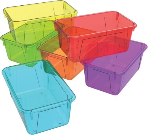 Storex Industries Corporation Storex 5.1H x 7.8W Plastic Small Cubby Bin