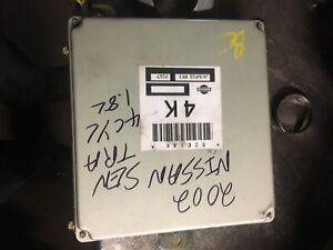 2002 Nissan Sentra GXE /& XE 1.8L A//T Electronic Control Module #JA56T65BL1