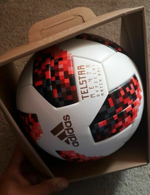 billetera Permiso encima  adidas World Cup Russia Telstar 18 Official Match Ball Ce8083 Size 5 for  sale online | eBay