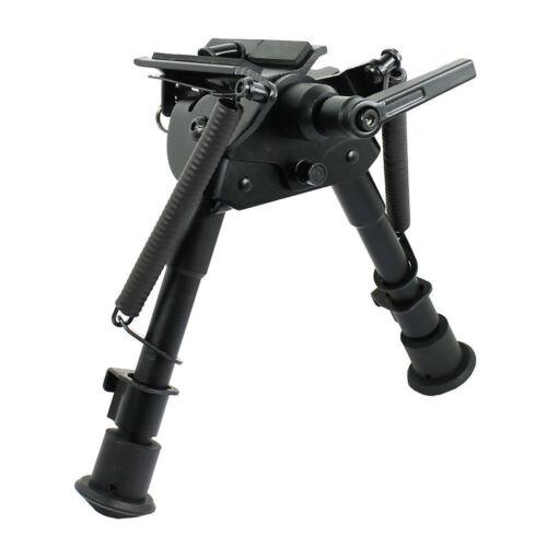 "US 6/"" 9/"" Harris style Rifle Gun Bipod Swivel Model Built in Pod-lock Rotatable"