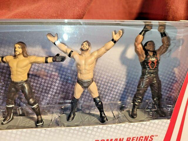Mattel WWE Collector 5-Pack Mini Figures The Rock, John Cena, AJ, Finn & Roman