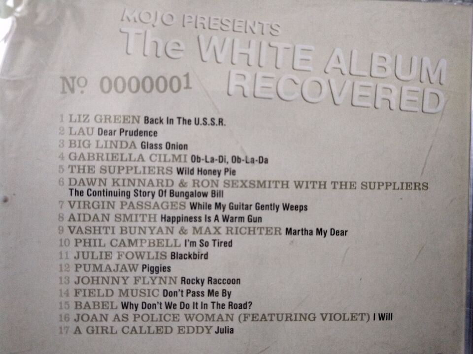 Beatles covered: White album Recovered, rock
