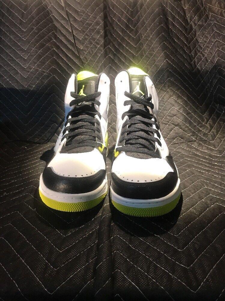 Nike Air Jordan SC-3 White/Venom Green-Black 629877-132 Men's Price reduction