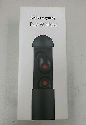 Crazybaby Air In Ear Auriculares Inalámbricos Negros MC7A2GTA Bluetooth | eBay