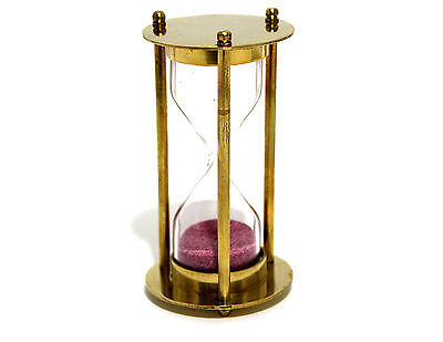 Brass Sand Timer - Hourglass Sand Timer - Decorative-