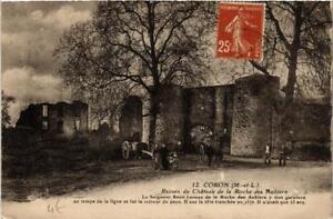 CPA AK CORON Ruines du Chateau de a Roche des Aubiers (606644)