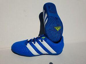 29 Neu Zu 35 Sportschuhe 37 Kinder Hallen Fußballschuh Adidas Blau Details 33 36 28 Schuhe F3Tl1JcK