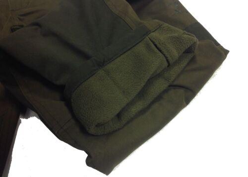 PERCUSSIONI tradizione Pantaloni Caldo Foderato in Pile Caccia Tiro Da Passeggio
