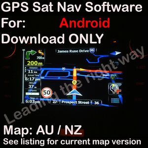 iGO 96 ANDROID GPS SOFTWARE MAP for AU NZ UK IR maps 2017 Q3