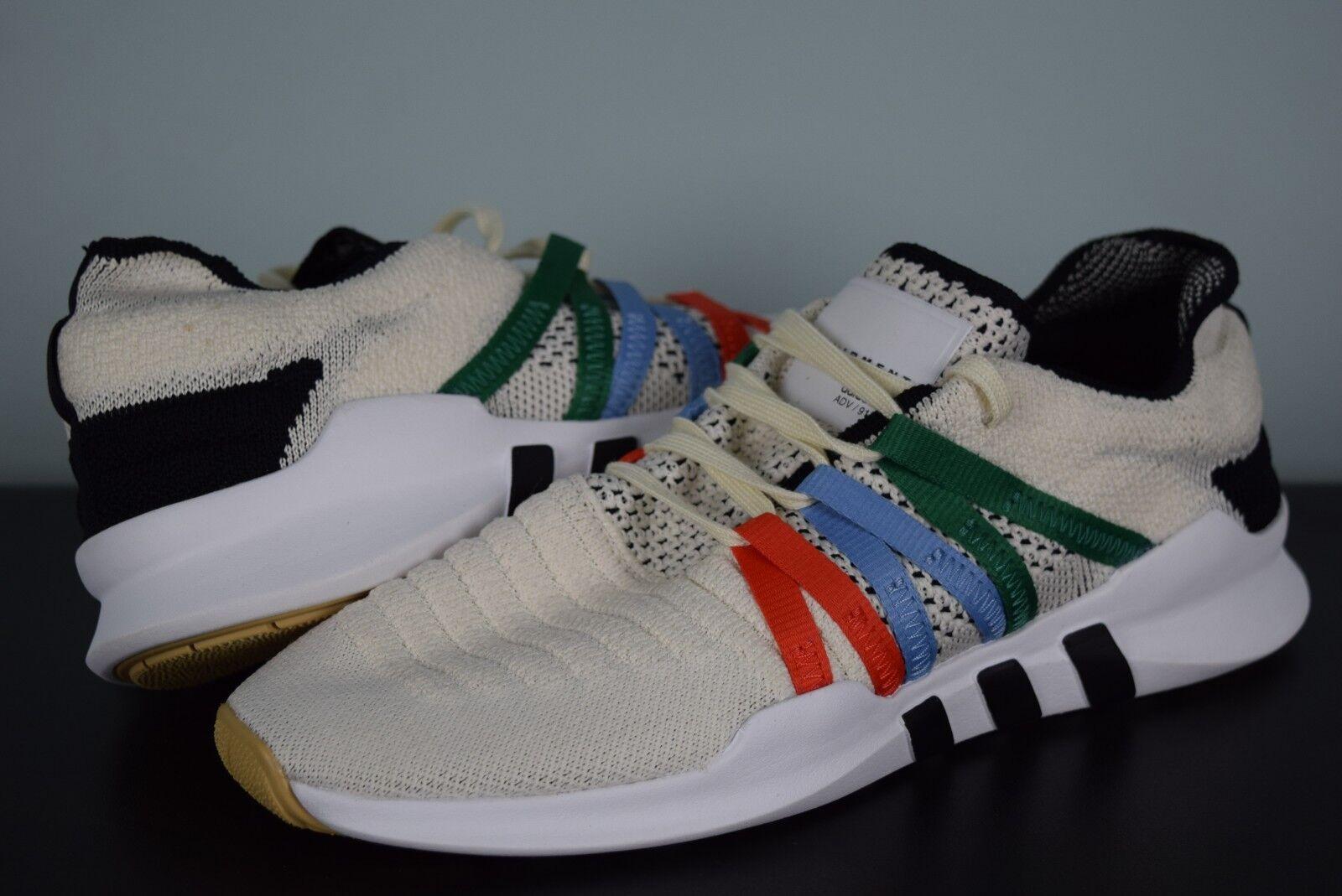New Womens Adidas Originals EQT Racing ADV PrimeKnit CQ2239 sz 9 white cream