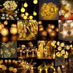 Solar-Battery-Power-LED-Fairy-String-Light-Xmas-Wedding-Christmas-Party-Decor