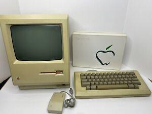 1984 APPLE MACINTOSH 128K Model M0001 Property Of Harvard RARE w/ accessories
