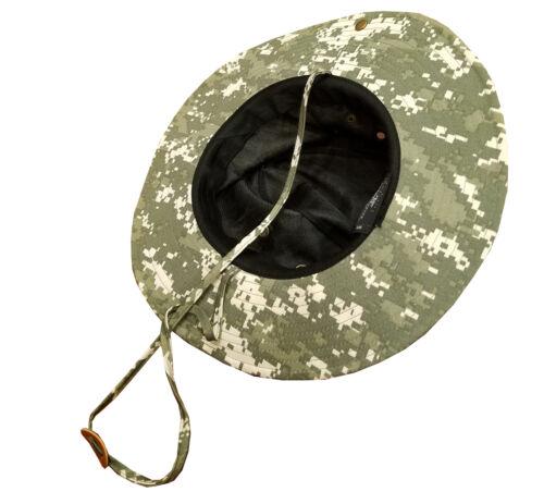 100/% Cotton Military Digital Boonie Bush Hiking Outdoor Hat AFGHANISTAN VETERAN