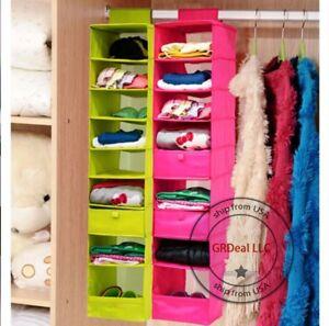 image is loading hanging activity daily shelf organizer 9 kids closet