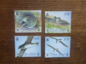 PITCAIRN-Is-2016-WWF-BIRDS-SET-4-MINT-STAMPS