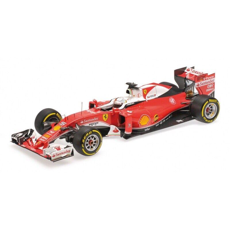 compra nuovo economico 2016 FERRARI SF16-H SF16-H SF16-H Sebastian Vettel Australiano mobili DRS 1 18 BBR RESIN modello  migliore marca