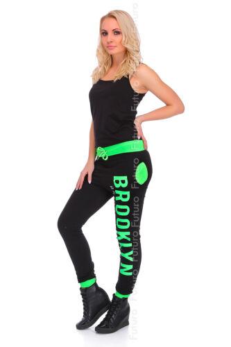 Womens Lightweight Sport Pants Brooklyn Pockets Jogging Bottoms Joggers FZ42