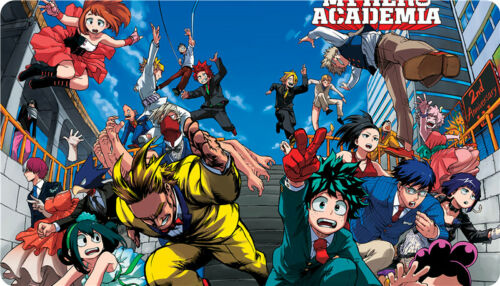 Anime My Hero Academia Characters Large Mouse Pad Keyboard Mat Muti Choices