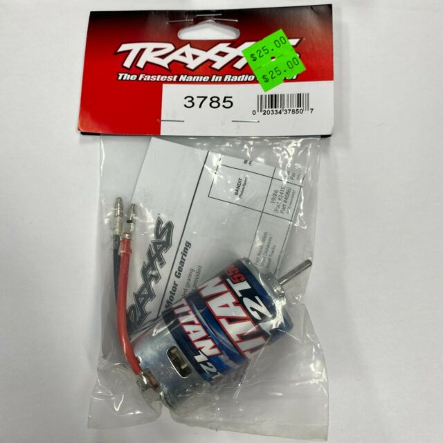 Traxxas 3785 Titan® 12T Modified Motor (12-turns) new