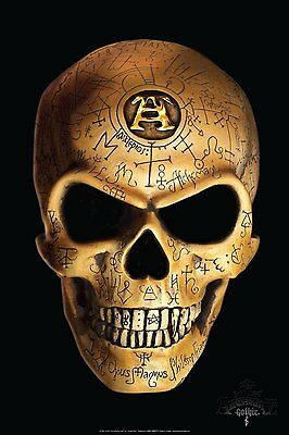 Alchemy Omega Skull - Cool Gothic Scary Poster - 24x36 NEW