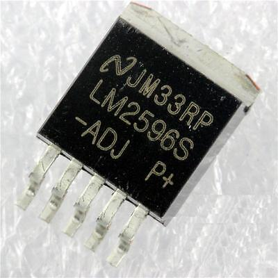 10PCS Step-Down Voltage Regulator IC TO-263-5 LM2596S-5.0 LM2596SX-5.0 LM2596S-5