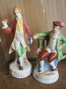 Vintage Lot Of 2 Men Victorian Figurines Made In Occupied Japan Ebay