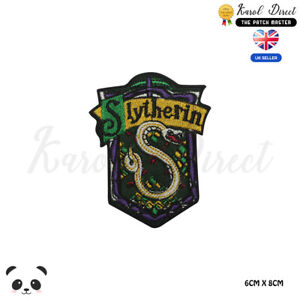 Harry-Potter-Slytherin-Special-Embroidered-Iron-On-Sew-On-Patch-Badge