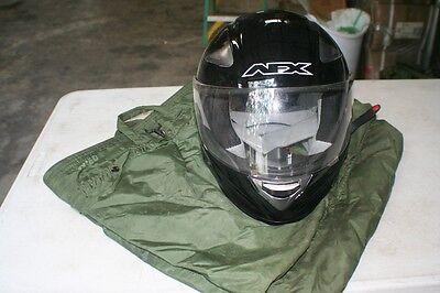 1 PILOTS HELMET PROTECTIVE BAG OLIVE DRAB GREAT FOR  BIKE HELMETS USED IN VGC