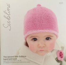 Sublime Yarn Baby Knitting Book #606 -  Size 0 To 2 Yrs - 21 designs - New!