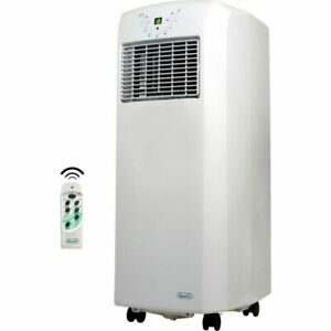 Compact-10000-BTU-Air-Conditioner-White-Portable-Room-AC-w-Window-Kit-amp-Remote