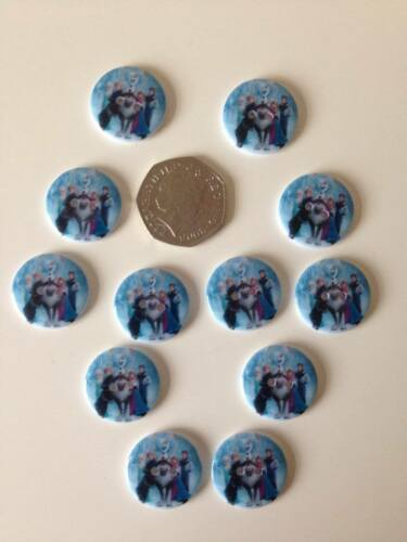 Congelé boutons coudre sur les boutons diamètre 22mm