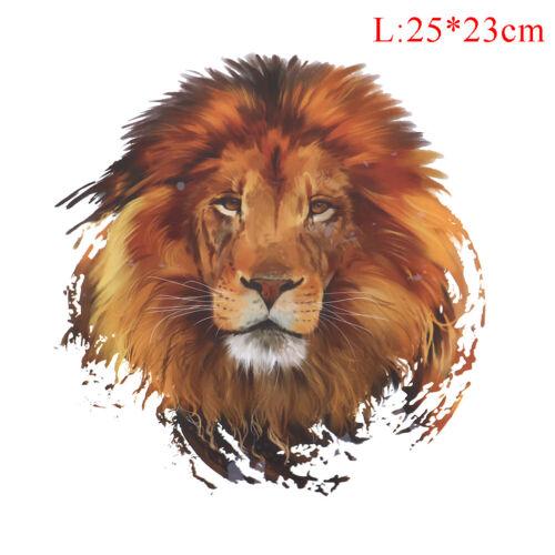 1pc Lion Patches Eisen auf Patches für Kleidung waschbar DIY Dekoration YG