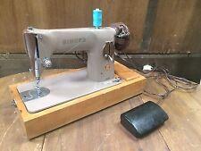 Singer 201k Handcrank Semi Industrial Heavy Duty Sewing Machine Leather Powerful