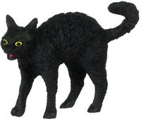 Dollhouse Miniature Halloween Black Cat Falcon Minis 1:12 Scale