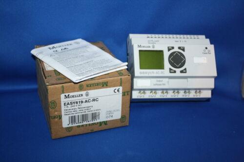 MOELLER EASY steuer relais ausgang control relay EASY619-AC-RC 619 115..240 V AC