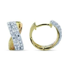 Image Is Loading 14k White Yellow Rose Gold Tri Two Tone
