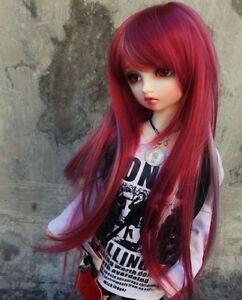7-8-034-1-4-BJD-Hair-Mini-Super-Dollfie-MSD-Long-Wig-Silver-Red-AF-DK-DZ-DL-AOD-DOD