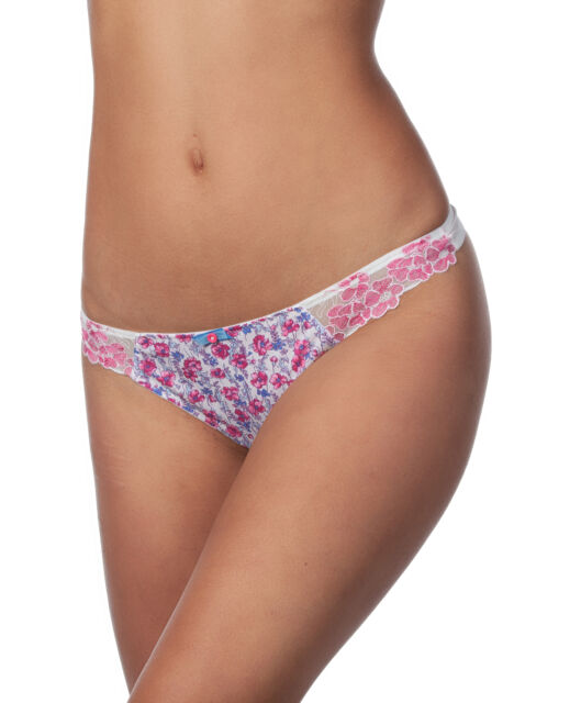 Cleo By Panache Women/'s Spencer Brazilian Panty MW7 Navy Blue Size US:2XL UK:18