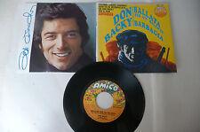 """DON BACKY"""" BARBAGIA-disco 45 giri AMICO It 1975"""" OST-PERFETTO"""