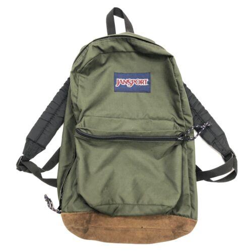 Vintage Jansport Backpack Army Olive Green