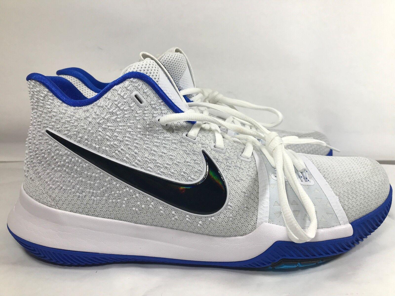Nike Kyrie Irving 3 III Bredherhood 852395 102 Hyper Cobalt blueee White 12.5
