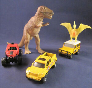2006 / 2007 Matchbox Lot of 3 Dino Search Expedition Land Rover - Road Rider +