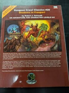 1x-Dungeon-Crawl-Classics-20-Shadows-in-Freeport-Used-Fine-dungeon-crawl-Class