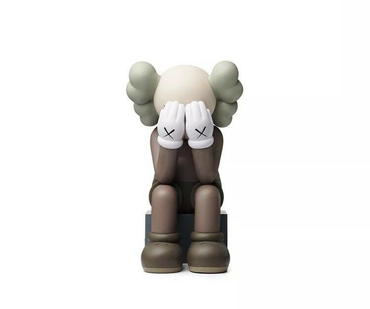 KAWS Companion  Passing Through marrone