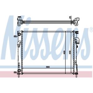 refrigeracion-del-motor-Radiador-Nissens-63025a