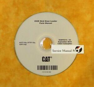 SEBP6415 CAT Caterpillar 262D Skid Steer Loader Parts Manual Book CD. KTS LST