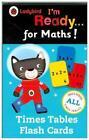 Ladybird I'm Ready for Maths: Times Tables Flash Cards von Ladybird (2015)
