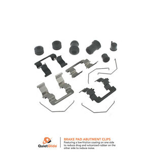 Carlson 13397Q Disc Brake Hardware Kit Front